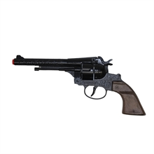 WORLD ARMS Diecast Colt Peacemaker Engraved Black-world-arms-Mitchells Adventure