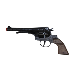 WORLD ARMS Diecast Colt Peacemaker Engraved Black