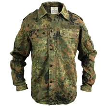 MILITARY SURPLUS German Flecktarn Jacket-Shirt-mid-layer-Mitchells Adventure