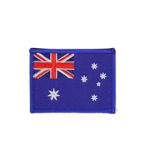 Australian Flag Patch With Velcro Back-flags-and-patches-Mitchells Adventure