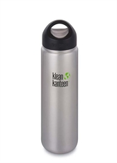 KLEAN KANTEEN 27Oz Wide Loop Cap Brushed Stainless-water-Mitchells Adventure