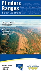 CARTO GRAPHICS Flinders Ranges Map-outdoor-adventure-maps-Mitchells Adventure