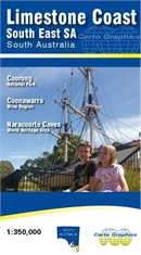 CARTO GRAPHICS Limestone Coast Map-outdoor-adventure-maps-Mitchells Adventure