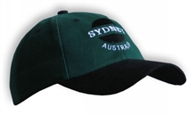 CAP SYDNEY GRN-BLACK PEAK-summer-Mitchells Adventure