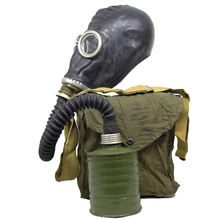 MILITARY SURPLUS Soviet Gp-5 Gas Mask With Bag And Filter-gas-masks-Mitchells Adventure
