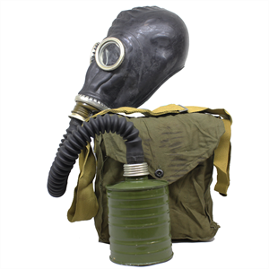 MILITARY SURPLUS Soviet Gp-5 Gas Mask With Bag And Filter