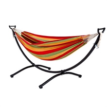 OZTRAIL Anywhere Hammock Double With Steel Frame-oztrail-Mitchells Adventure