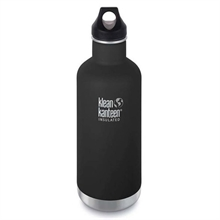 KLEAN KANTEEN 32Oz insulated Classic Loop Shale Black-water-Mitchells Adventure