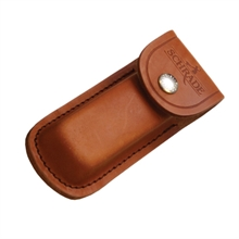 LEATHER SHEATH BROWN - MED-accessories-Mitchells Adventure
