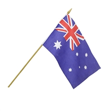 OUTBOUND Australian Flag Hand Waver-flags-and-patches-Mitchells Adventure