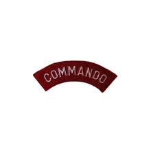 WWII Commando Tab Patch-flags-and-patches-Mitchells Adventure