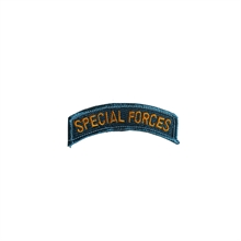 U.S. ARMY Special Forces Blue Tab Patch-flags-and-patches-Mitchells Adventure