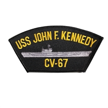 U.S. NAVY USS John F Kennedy CV-67 Cap Patch-flags-and-patches-Mitchells Adventure