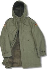 Original Cold War Era Olive German Field Parka-jackets-Mitchells Adventure