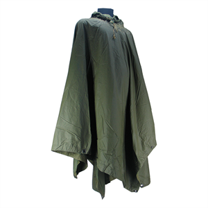 MILITARY SURPLUS Ex US Nylon Poncho OD