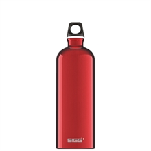 SIGG Traveller Red 1L Bottle-sigg-Mitchells Adventure