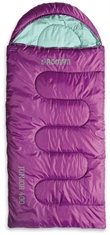 ROMAN Junior Hooded 400 Sleeping Bag Purple-sleeping-bags-Mitchells Adventure