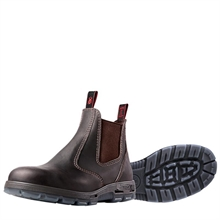 REDBACK PU Bobcat Brown-work-boots-Mitchells Adventure