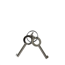 GUARDWELL Handcuff Key-handcuffs-Mitchells Adventure
