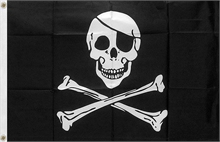OUTBOUND The Jolly Roger Flag 5x3-flags-and-patches-Mitchells Adventure