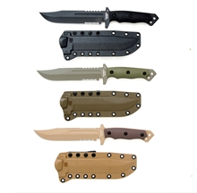 HALFBREED BLADES LIK-01 Large Infantry Knife - Kydex Sheath-for-cutting-Mitchells Adventure