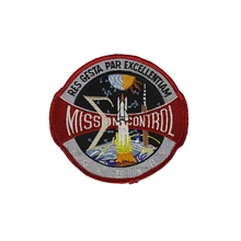 NASA Mission Control Patch-flags-and-patches-Mitchells Adventure