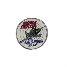 R.A.A.F. Williamtown Mirage Fighter Patch-flags-and-patches-Mitchells Adventure
