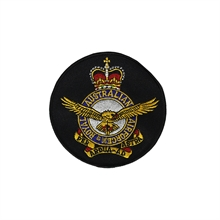 RAAF Crest Round Patch-flags-and-patches-Mitchells Adventure