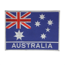 Australian Flag Patch 175x128mm-flags-and-patches-Mitchells Adventure