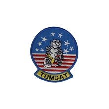 U.S. NAVY The Classic Tomcat Round Patch-flags-and-patches-Mitchells Adventure