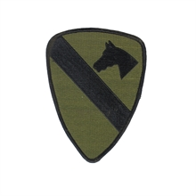 U.S. ARMY 1St Cavalry Division Combat Sleeve  Patch-flags-and-patches-Mitchells Adventure