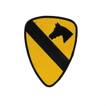 U.S. ARMY 1St Cavalry Division Shoulder Sleeve insignia Patch-flags-and-patches-Mitchells Adventure
