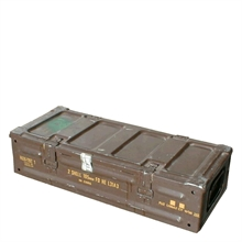MILITARY SURPLUS L31A3 - 2 Shells 105mm Ammo Box-ammo-boxes-Mitchells Adventure
