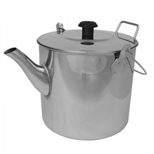 CAMPFIRE Stainless Steel Teapot Billy 1.8L-camping-pots-and-pans-Mitchells Adventure