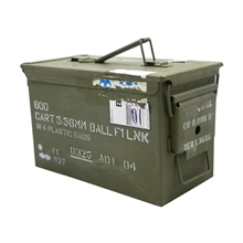 MILITARY SURPLUS M2A1 - Commonly Known as the 50Cal Ammo Box-ammo-boxes-Mitchells Adventure