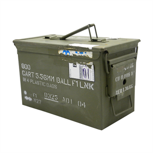 MILITARY SURPLUS M2A1 - Commonly Known as the 50Cal Ammo Box