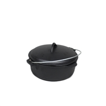 2Qrt Cast Iron Camp Oven-camping-pots-and-pans-Mitchells Adventure