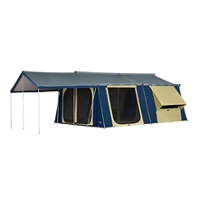 OZTRAIL Cabin 15x16 (inc Sunroom & Floor Kit)-oztrail-Mitchells Adventure
