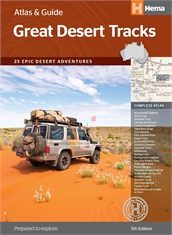 HEMA Australian Great Desert Tracks - Atlas & Guide-hema-Mitchells Adventure