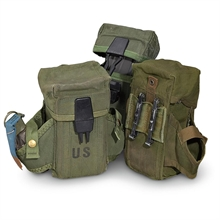 MILITARY SURPLUS Small Arms Ammunition Pouch M16-equipment-Mitchells Adventure