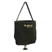 OZTRAIL Canvas Shower Bucket-camping-ensuites-and-showers-Mitchells Adventure