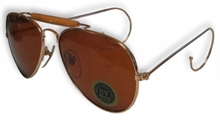 SUNGLASS AVIATOR BROWN-Mitchells Adventure