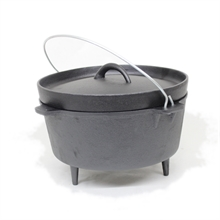 OUTBOUND 4.5Qrt (4.3Lt) Camp Oven Lip Lid-camping-pots-and-pans-Mitchells Adventure