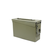 MILITARY SURPLUS M19A1 - 30Cal Ammo Box - Cleanskin-ammo-boxes-Mitchells Adventure