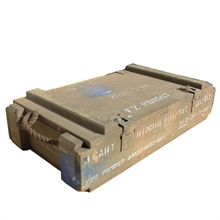 MILITARY SURPLUS F8 Wooden 81mm Morter Ammo Box-ammo-boxes-Mitchells Adventure