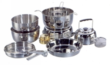 ALCOHOL COOKSET STAINLESS STEEL-to-cook-in-Mitchells Adventure