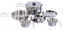 2-PERSON COOKSET STAINLESS STEEL-to-cook-in-Mitchells Adventure