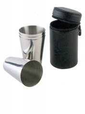 STAINLESS STEEL MUG SET 4PCS 100ML-to-eat-with-Mitchells Adventure