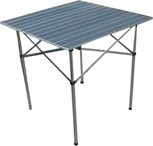 Alum Slat Table 70x70-tables-Mitchells Adventure