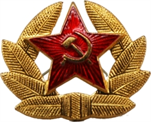 RUSSIAN STAR with CREST-flags-and-patches-Mitchells Adventure